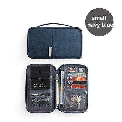 Travel Wallet Family Passport Holder Accessories Document Organizer Bag Case 8