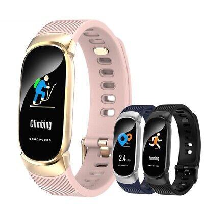Waterproof Smart Bracelet IP67 Heart Rate Blood Pressure Fitness Tracker Watch 3