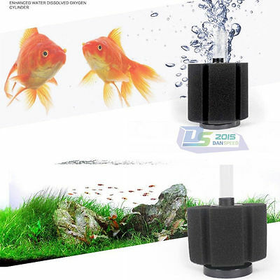 Bio Sponge Filter Breeding Fry Betta Shrimp Nano Fish Tank Aquarium Up to 20 Gal 3