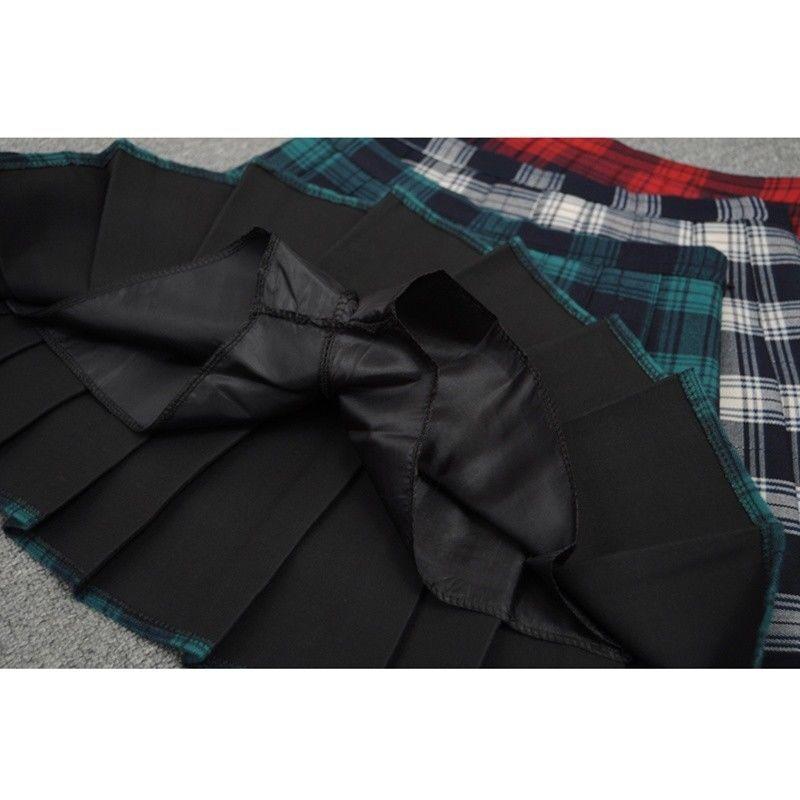 81cfc8f1422190 FEMMES CARREAUX PLISSÉ Mesdames Mini jupe écossais Écosse à kilt patineuse  sexy