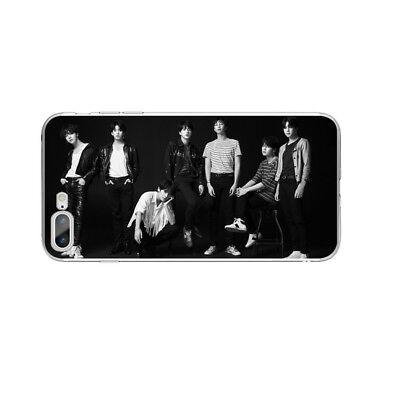 KPOP Bangtan Boys Soft TPU Phone Case Cover For iPhone X 6 6s 6 7 8 Plus 12