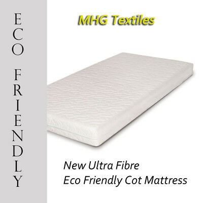 Junior Toddler Ultra Fibre Eco-Friendly Baby / Toddler Cotbed Mattress All Sizes 2