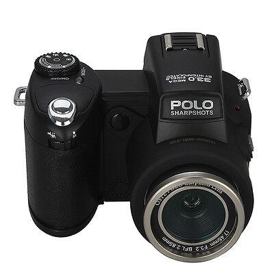 Appareil photo numérique POLO D7200 33MP 1080P +3 objectif large +projecteur LED 3