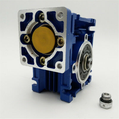 5:1 Worm Gear Reducer Speed Gearbox NMRV030 for NEMA23 Sevor / Stepper Motor 6