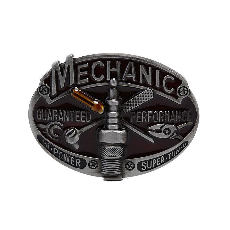 Retro Carpenter Mechanic Herren Gürtelschnalle Metalllegierung Western Cowb!I