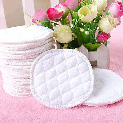 12pcs Economic Washable Absorbent Baby Breastfeeding Pads Reusable Nursing Pad 2