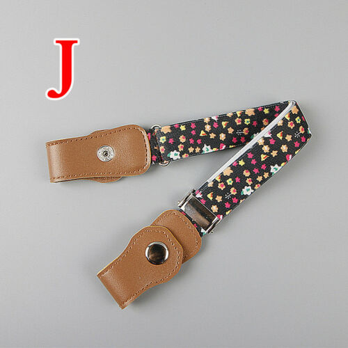 Baby Kids Elastic Waist Belt Boy Girl Invisible No Buckle Adjustable Waist Band 11