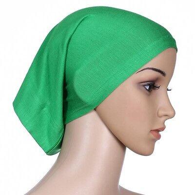 Muslim Women Hijab Under Scarf Inner Cap Bone Bonnet Neck Cover Cap Head Wrap 12