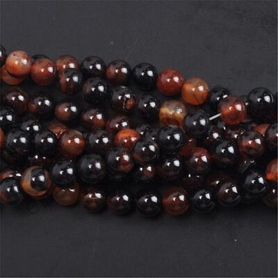 Natural Gemstone Round Spacer Loose Beads 4MM 6MM 8MM 10MM  Assorted Stones 6