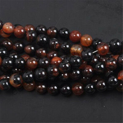 Wholesale Natural Genuine Stone Gemstone Round Spacer Loose Beads 4,6,8,10,12mm 8