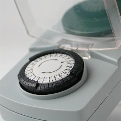 analoge Tages-Zeitschaltuhr, Aussen IP44, max 3500W 230V Schaltuhr Zeitschalter 5