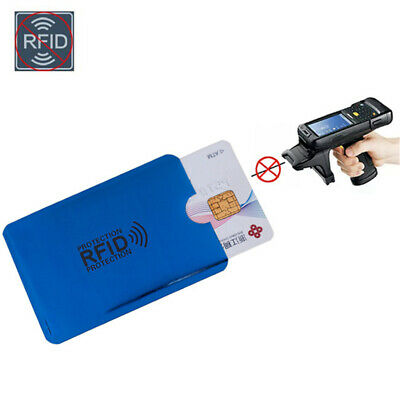 10pcs RFID Blocking Sleeve Credit Card Protector Bank Card Holder for Wallets 12