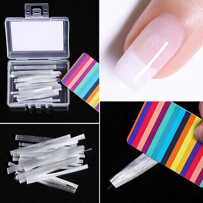 Fibernails Fiberglass Nail Extension Form Acrylic Tips Manicure Fiber Salon Tool 6
