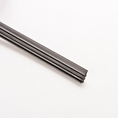 """2 x essuie-glace universel lame d'essuie-glace caoutchouc 6mm 26 """"noir^-BB 8"""