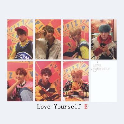 KPOP Bangtan Boys Love Yourself Tear WINGS Wings Tour Self Made Photo Card 7