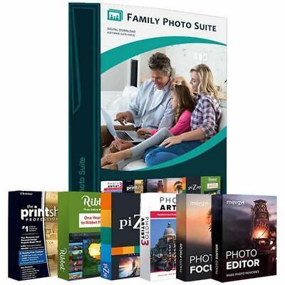 Canon EOS Rebel T7 DSLR Camera + 18-55mm Lens + Photo Editor Bundle Kit 4