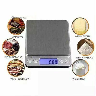 Portable 3000g x 0.01g Mini Digital Scale Jewelry Pocket Balance Weight Gram LCD 3
