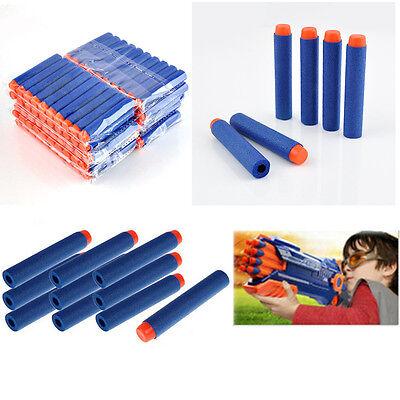 5PCS Kids Refill Toy Gun Bullet Darts Round Head Blasters For NERF N-Strike 2