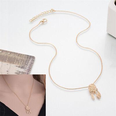 Les femmes rêvent receveur breloque pendentif collier longue chaîne bijoux IU