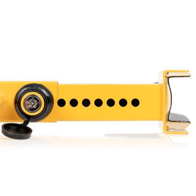 Antitheft wheel clamp tyre lock car van motorhome trailer OFFROAD VEHICLE 3 KEYS 6