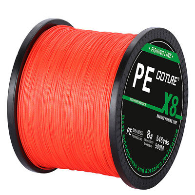 Goture 500M Braided Fishing Line 8 STRANDS Super Strong Saltwater Fishing Line 5