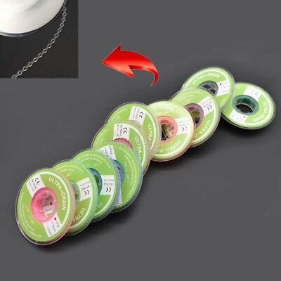 Dental Orthodontic Elastic Ultra Power Rubber Chain Long Short Closed 10 Colors 8