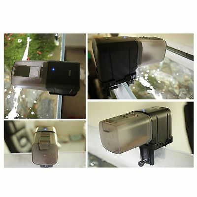 WiFi Automatic Fish Food Feeder Pet Feeding Aquarium Tank Pond Auto Dispenser 7