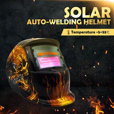 New Solar Auto Darkening Welding Helmet Mask ARC TIG MAG High Quality AU 10