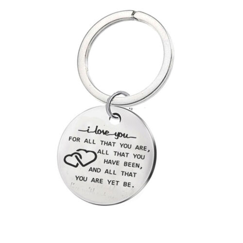 I Love You For Who You Are But That Dick Sure Is A Bonus Keyring Keychain QK 8