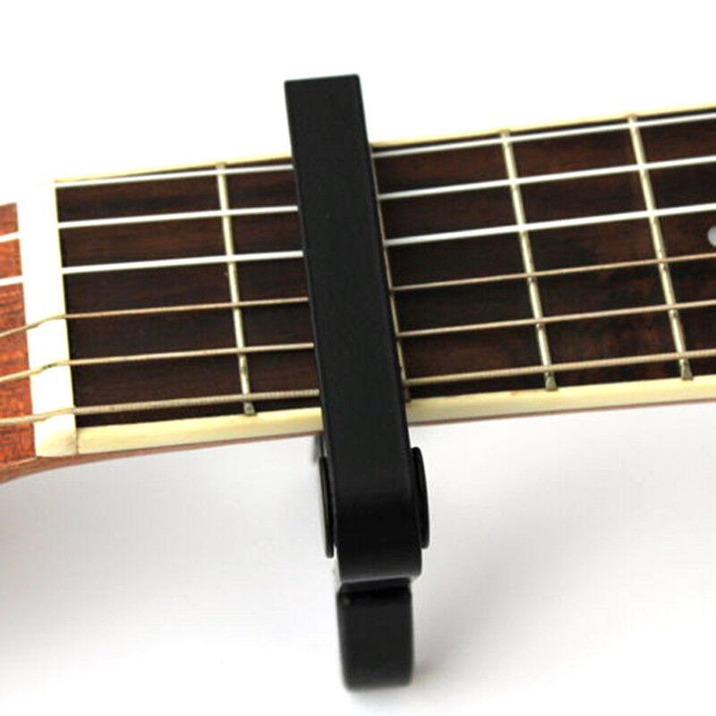 Advanced Guitar Capo Quick Change Tune Clamp Acoustic Electric Classic Guitar E& 6