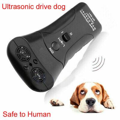 Anti Dog Barking Pet Trainer LED Light Ultrasonic Gentle Chaser Petgentle Style 8