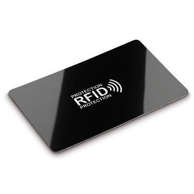 2x RFID & NFC Blocker Schutzkarte NEU Anti Skimming Card EC & Kreditkarten Perso 3