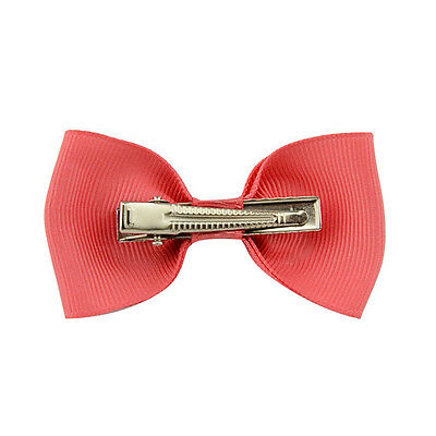 20X Hair Bows Band Boutique Alligator Clip Grosgrain Ribbon For Girl Baby Kid LD 5
