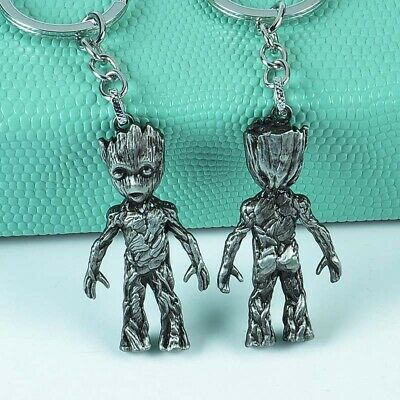 Marvel Avengers Guardians of the Galaxy Groot Alloy Key Chains Keychain Keyring 6