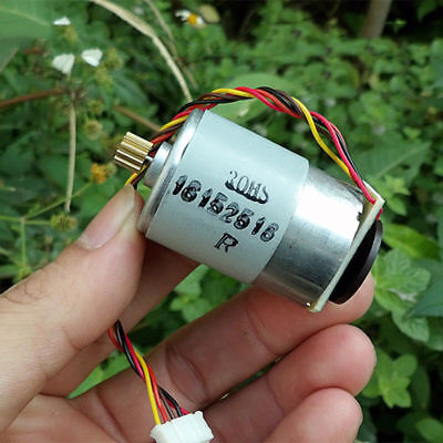 RS-385 Motor DC 12V-24V 5300RPM-10800RPM With Speed Feedback/Encoder Disk/Gear S 8