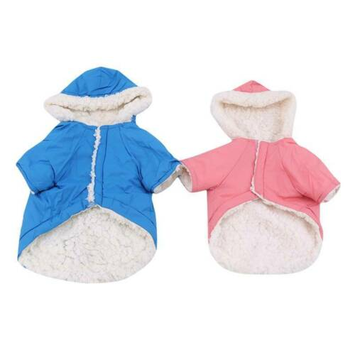 Winter Dog Coats Pet Cat Puppy Chihuahua Clothes Hoodie Warm  Dog Clothing Z 6