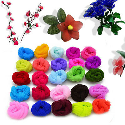 5Pcs 2.3M Nylon Stocking For Making Artificial Mesh Flower Arrangement Stamen 3