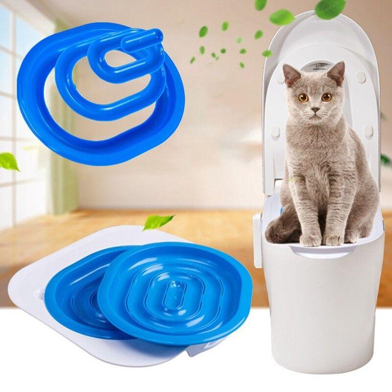 1*Cat Toilet Training Kit Pet Trainer Puppy Cat Litter Box Pet Supplies Xqidi 3