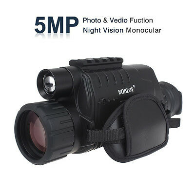 WG-37 5X40 Zoom digitale Visore notturno monoculare a infrarossi Disco 5