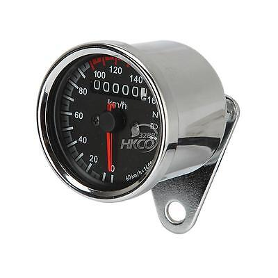 "VAWiK chrome 5/"" Odometer gauge cover for HD /'01-/'06 Softail Standard EFI FXSTI"