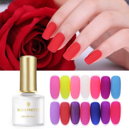 BORN PRETTY UV LED Glitter Sequins Gel Nail Polish Soak Off Topcoat Varnish 6ml 4