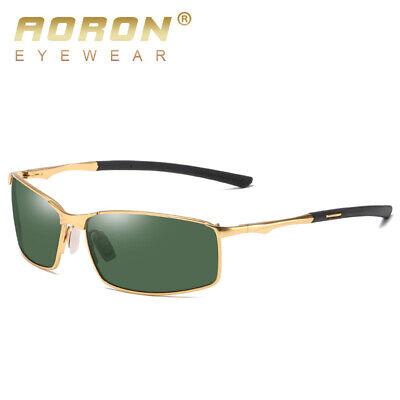 Aluminium HD Polarized Photochromic Sunglasses Men Chameleon Driving Sun Glasses 10