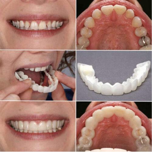 2Pc Silicone Protège Simulation Dent Dentisterie Blanchiment Dentaire Beauté Dur 3
