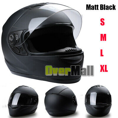 2019 Safety DOT Motorcycle Full Face Helmet Motorbike Racing Sports M / L / XL 2