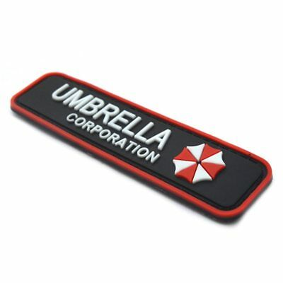 Umbrella Corporation Klett Patch B-Ware Paintball Resident Evil Gaming Merch Airsoft