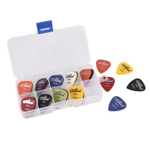 50 Pz/set Plettro pers chitarra elettrica Pick Musica acustica Plettri AccessoW 3