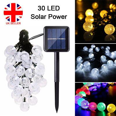 50 100 200 LED Solar Battery Powered Fairy String Lights Garden Party Decor XMAS 9