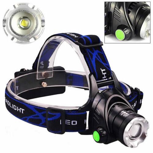 12000lm XM-L XML T6 LED-Stirnlampe Scheinwerfer Taschenlampe 18650 Head Light/_lk