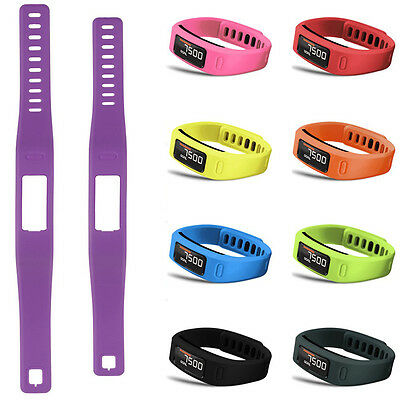 Replacement Wrist Band  Strap W/ Clasp Bracelet For Garmin Vivofit 1/2 Size S/L 3