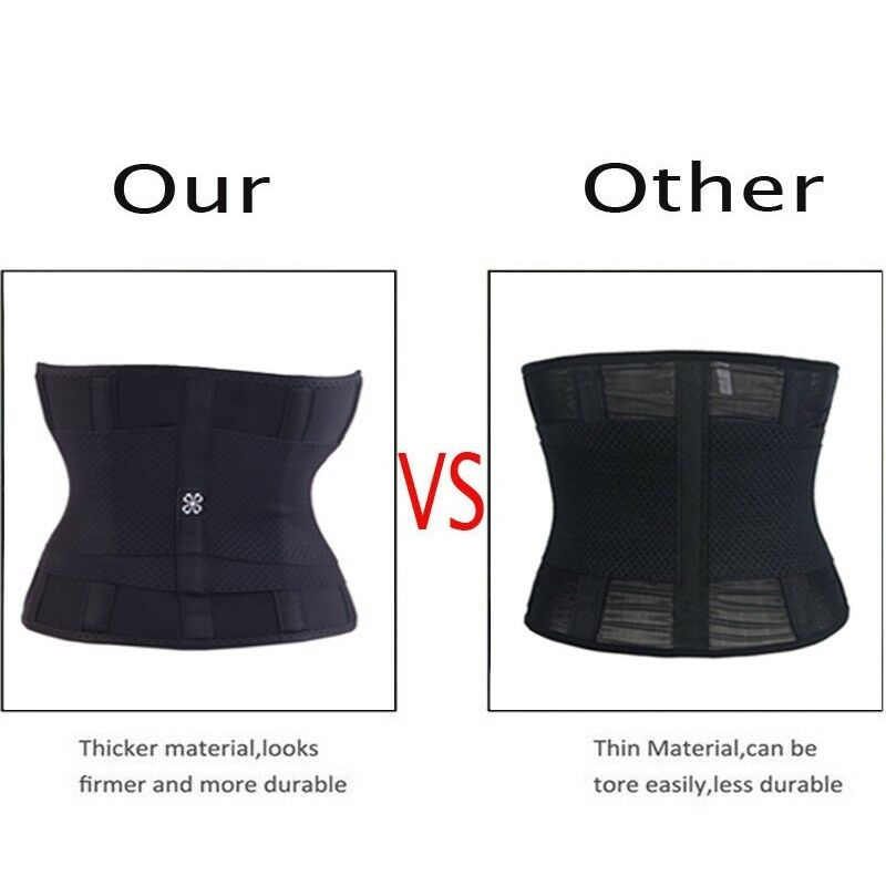 Waist Trainer Cincher Tummy Control Body Shaper Corset Slimming Belt Sport Wrap 11